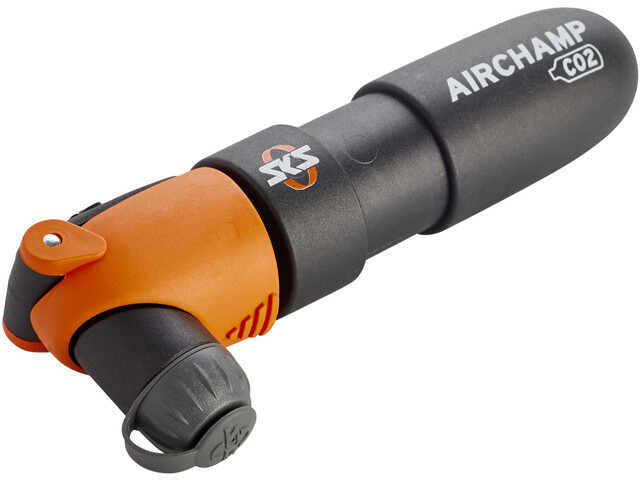SKS Airchamp CO2 Minipompka, black